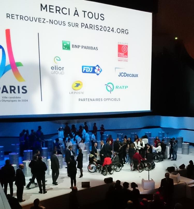 Paris 2024 a remercié ses premiers Partenaires Officiels, le 17 février 2016 (Crédits - Sport & Société)