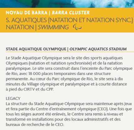 Extrait du Livre 2 du Dossier de Candidature de Rio 2016 (Crédits - Capture d'écran / Sport & Société)