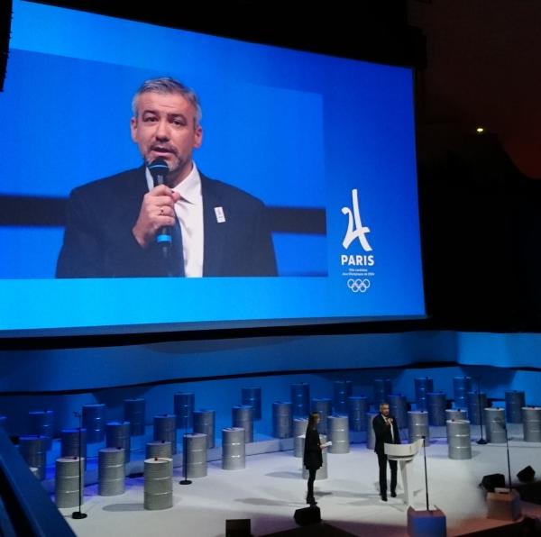 Étienne Thobois, Directeur Général de la candidature (Crédits - Sport & Société)