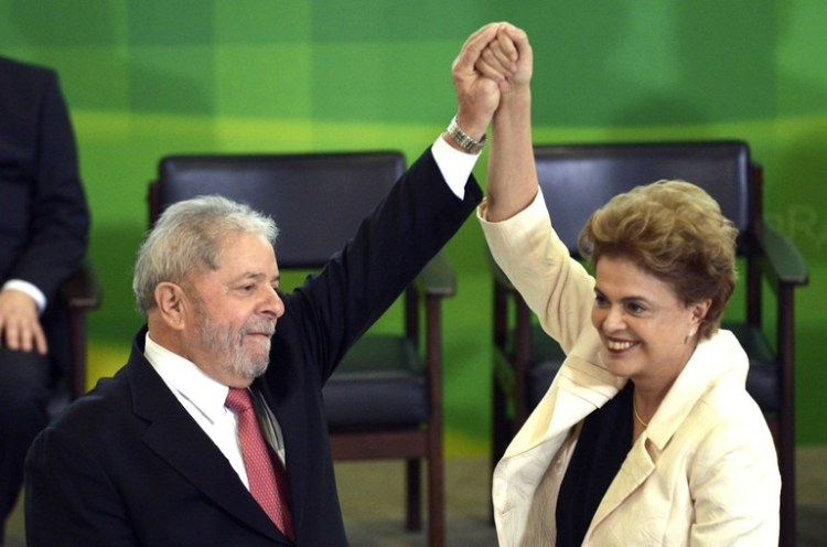 Lula et Dilma Rousseff (Crédits - Agencia Brasil)