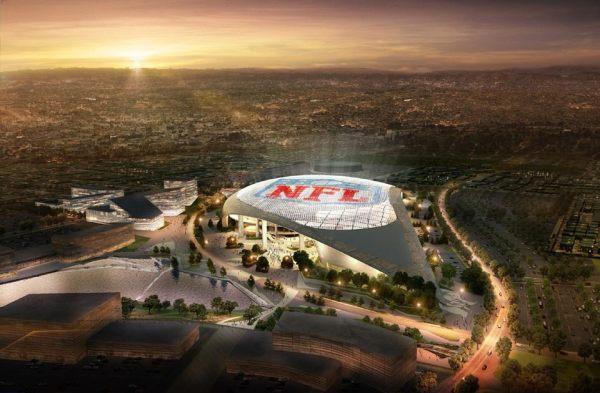 Visuel du futur stade des Rams de Los Angeles (Crédits - Los Angeles Rams)