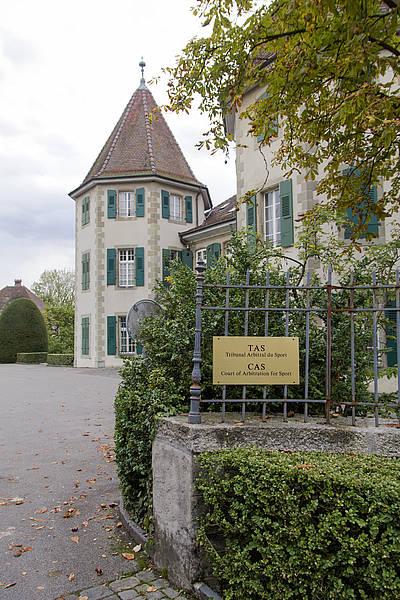 Le Château de Béthusy, siège du Tribunal Arbitral du Sport (Crédits - TAS)