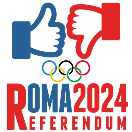 (Crédits - Referendum Olimpiadi Roma 2024 / Page Facebook)