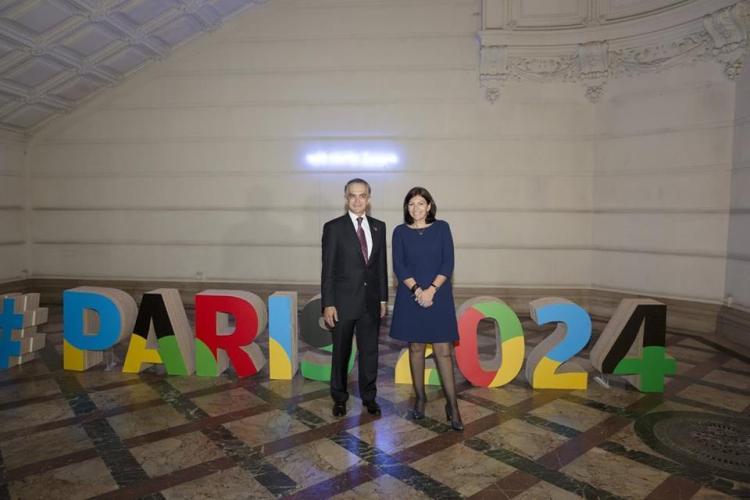Miguel Ángel Mancera, Maire de Mexico, et Anne Hidalgo, Maire de Paris (Crédits - Ville de Paris / S.Robichon)