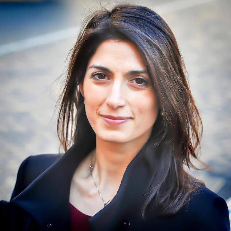 Portrait de Virginia Raggi (Crédits - Page officielle Facebook / Virginia Raggi)