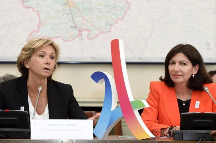 Valérie Pécresse, Présidente de la Région Île-de-France, et Anne Hidalgo, Maire de Paris (Crédits - Paris 2024)