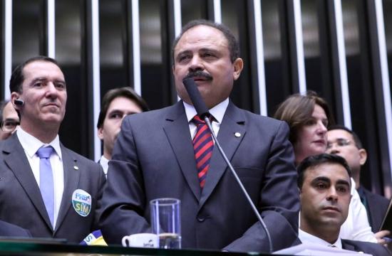 Waldir Maranhão, Président par intérim de la Chambre des Députés (Crédits - Estadao)