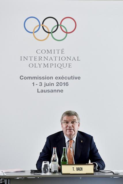 Thomas Bach, Président du Comité International Olympique (Crédits - CIO / Christophe Moratal)