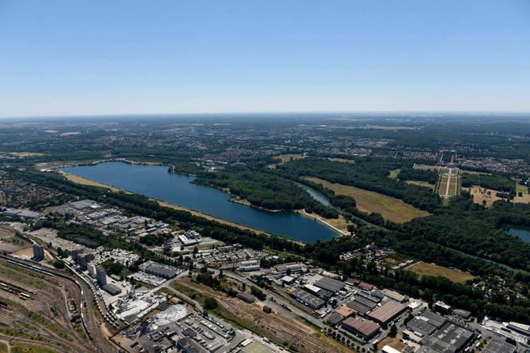 Vue du site de Vaires-sur-Marne (Crédits - Paris 2024)