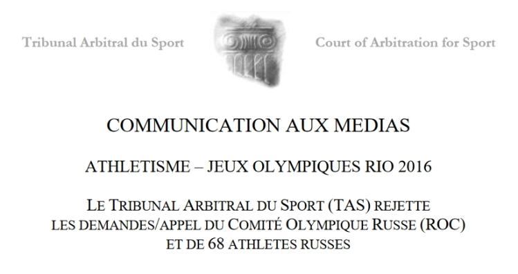 TAS - IAAF