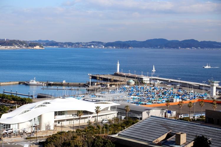 Vue de l'Enoshima Yacht Harbour (Crédits - Tokyo 2020)