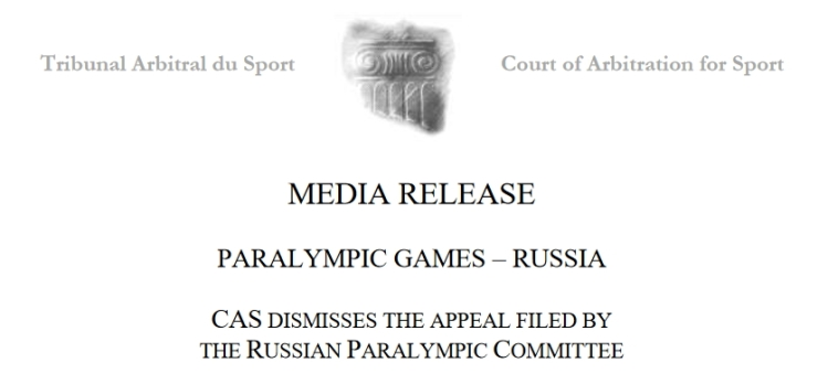 Russie - Paralympiques