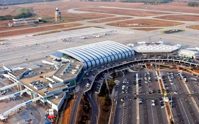 Vue de l'aéroport international de Budapest (Crédits - Budapest Airport / Ville de Budapest)