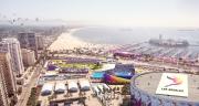 Visuel du Long Beach Sports Park (Crédits - LA 2024)