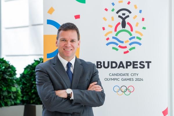 Balázs Fürjes, Président du Comité de Candidature (Crédits - Budapest 2024)
