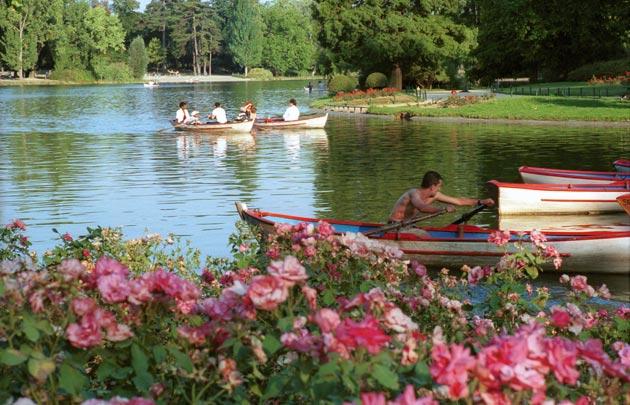 Lac Daumesnil (Crédits - Paris Info)