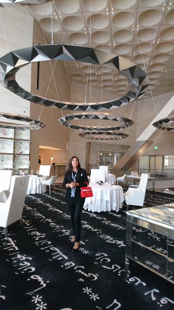 Anne Hidalgo éblouie par le restaurant du Musée (Crédits - Sport & Société)