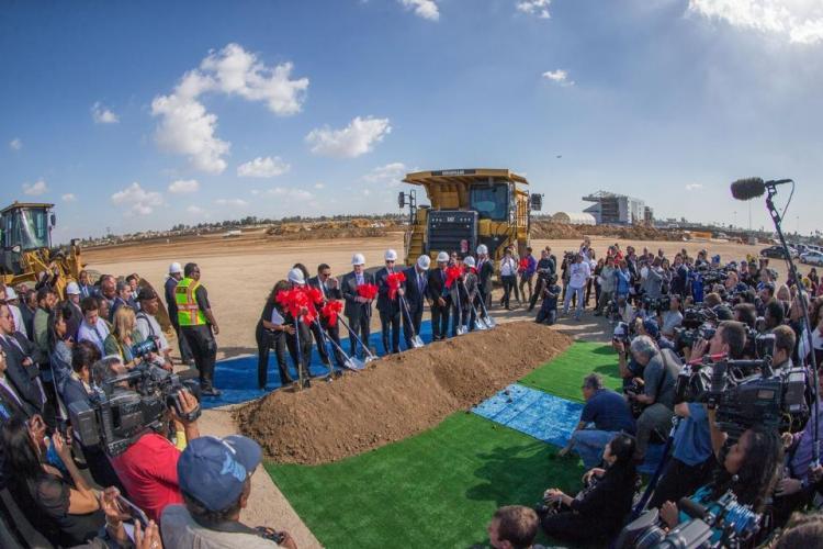 La cérémonie officielle de lancement des travaux s'est déroulée le 17 novembre 2016 (Crédits – Rams)