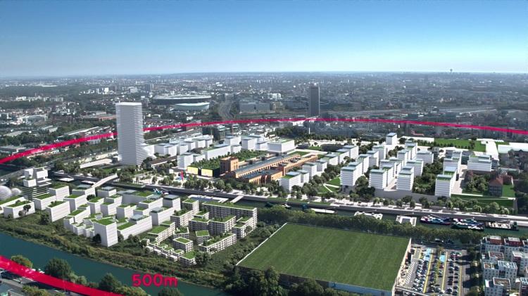 Visuel du Village Olympique et Paralympique (Crédits - Paris 2024)