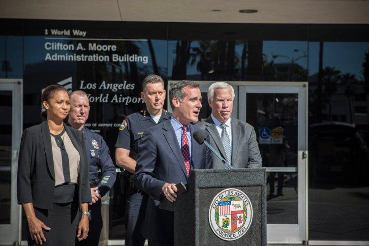 (Crédits - Eric Garcetti / Compte Twitter du Maire de Los Angeles)