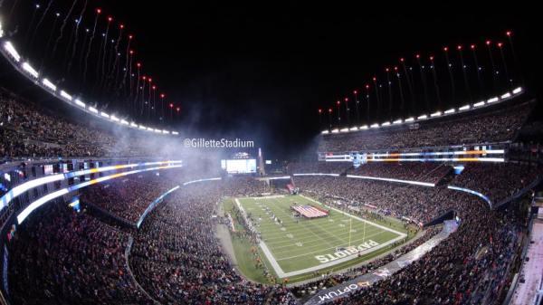 Le Gillette Stadium accueille aujourd'hui la rencontre entre les Patriots et les Steelers (Crédits - Gillette Stadium)