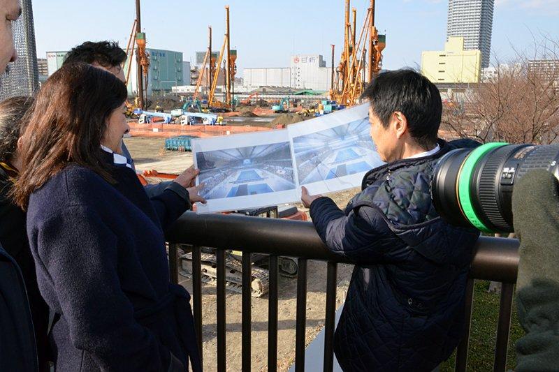 anne-hidalgo-centre-aquatique-tokyo-2020