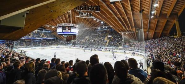 Vue intérieure de la Davos Vaillant Arena (Crédits - zVg)