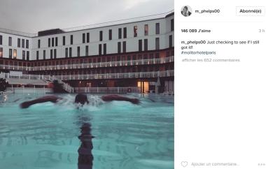(Crédits - Capture d'écran de la page Instagram de Michael Phelps / Sport & Société)