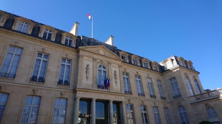Palais de l'Élysée (Crédits - Sport & Société)