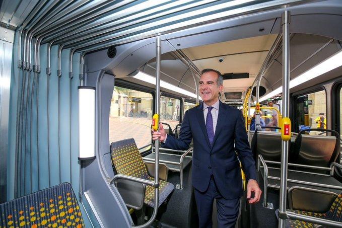 Bus électrique Los Angeles
